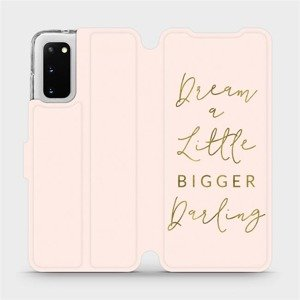 Flipové pouzdro Mobiwear na mobil Samsung Galaxy S20 - M014S Dream a little
