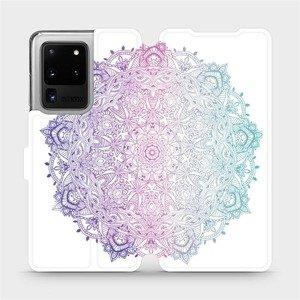 Flipové pouzdro Mobiwear na mobil Samsung Galaxy S20 Ultra - M008S Mandala