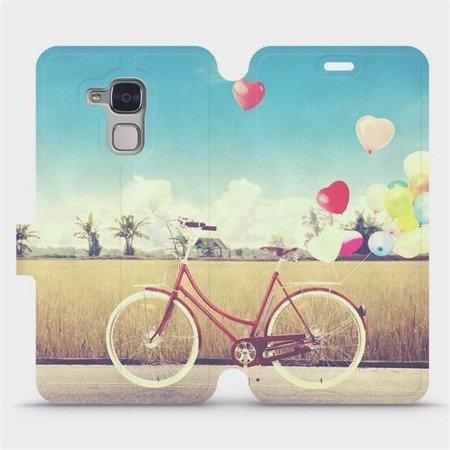 Flipové pouzdro Mobiwear na mobil Honor 7 Lite - M133P Kolo a balónky