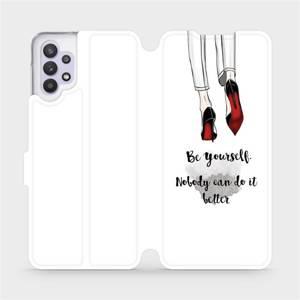 Flipové pouzdro Mobiwear na mobil Samsung Galaxy A32 5G - M046P Be yourself