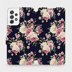 Flipové pouzdro Mobiwear na mobil Samsung galaxy A72 5G - V068P Růžičky