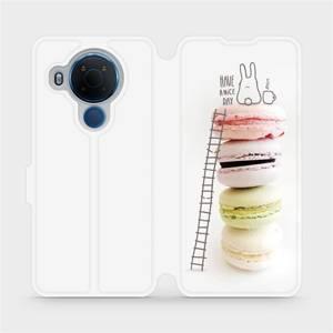 Flipové pouzdro Mobiwear na mobil Nokia 5.4 - M090P Makronky - have a nice day