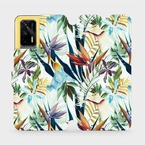 Flipové pouzdro Mobiwear na mobil Realme GT 5G - M071P Flóra