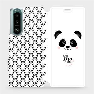 Flip pouzdro Mobiwear na mobil Sony Xperia 5 III - M030P Panda Amálka