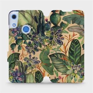 Flip pouzdro Mobiwear na mobil Huawei Y6S - VP05S Sukulenty