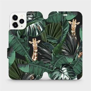 Flip pouzdro Mobiwear na mobil Apple iPhone 11 Pro - VP06P Žirafky