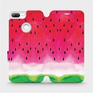Flipové pouzdro Mobiwear na mobil Honor 9 Lite - V086S Melounek