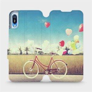 Flipové pouzdro Mobiwear na mobil Huawei Y6 2019 - M133P Kolo a balónky
