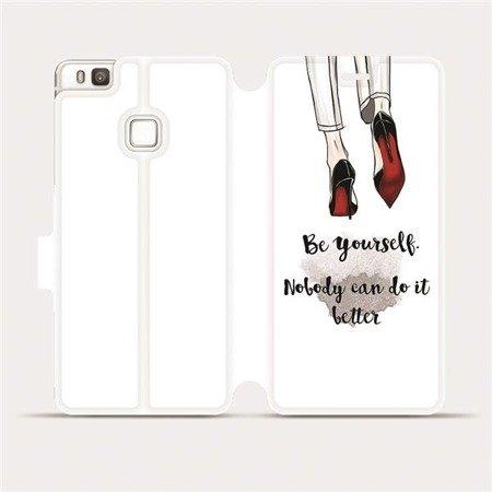 Flipové pouzdro Mobiwear na mobil Huawei P9 Lite - M046P Be yourself
