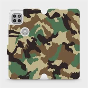 Flipové pouzdro Mobiwear na mobil Motorola Moto G 5G - V111P Maskáče