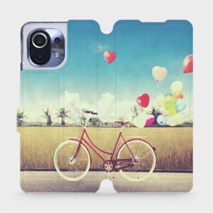 Flipové pouzdro Mobiwear na mobil Xiaomi Mi 11 - M133P Kolo a balónky