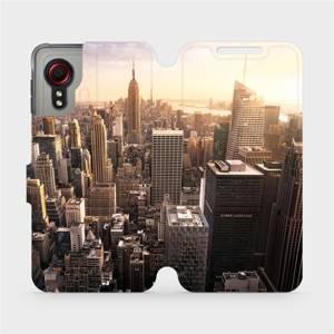 Flipové pouzdro Mobiwear na mobil Samsung Galaxy Xcover 5 - M138P New York