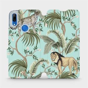 Flip pouzdro Mobiwear na mobil Huawei P Smart Z - MP08S Dvě kočičky
