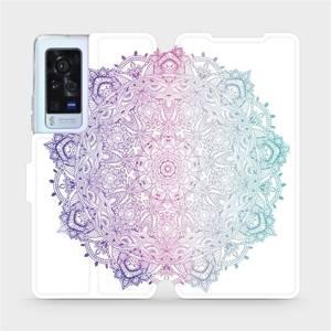 Flip pouzdro Mobiwear na mobil Vivo X60 Pro 5G - M008S Mandala