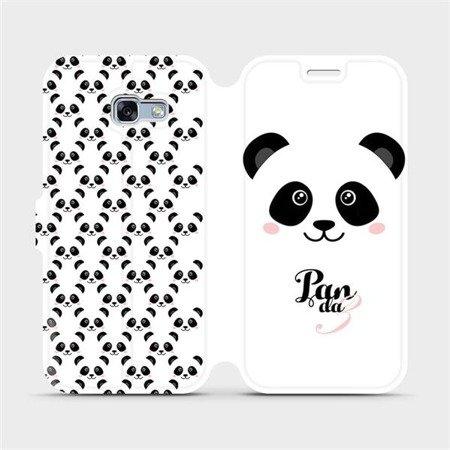 Flipové pouzdro Mobiwear na mobil Samsung Galaxy A3 2017 - M030P Panda Amálka