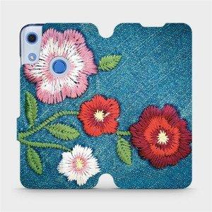 Flipové pouzdro Mobiwear na mobil Huawei Y6S - MD05P Džínové květy