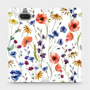 Flip pouzdro Mobiwear na mobil Sony Xperia 10 - MP04S Luční kvítí