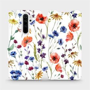 Flip pouzdro Mobiwear na mobil Xiaomi Redmi Note 8 Pro - MP04S Luční kvítí