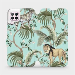 Flip pouzdro Mobiwear na mobil Huawei P40 Lite - MP08S Dvě kočičky