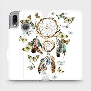 Flipové pouzdro Mobiwear na mobil Huawei P20 Lite - M001P Lapač a motýlci