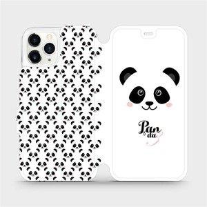 Flipové pouzdro Mobiwear na mobil Apple iPhone 11 Pro - M030P Panda Amálka