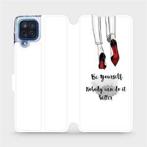 Flipové pouzdro Mobiwear na mobil Samsung Galaxy M12 - M046P Be yourself