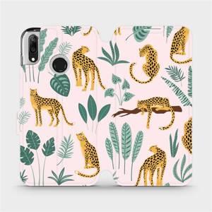 Flip pouzdro Mobiwear na mobil Huawei Y7 2019 - MP07S Leopardi