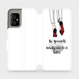 Flip pouzdro Mobiwear na mobil Asus Zenfone 8 - M046P Be yourself