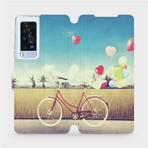 Flip pouzdro Mobiwear na mobil Vivo X60 Pro 5G - M133P Kolo a balónky