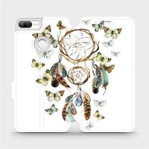 Flipové pouzdro Mobiwear na mobil Honor 9 Lite - M001P Lapač a motýlci