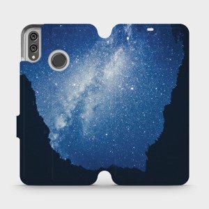 Flipové pouzdro Mobiwear na mobil Honor 8X - M146P Galaxie