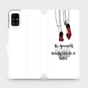 Flipové pouzdro Mobiwear na mobil Samsung Galaxy M51 - M046P Be yourself
