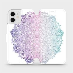 Flipové pouzdro Mobiwear na mobil Apple iPhone 12 - M008S Mandala