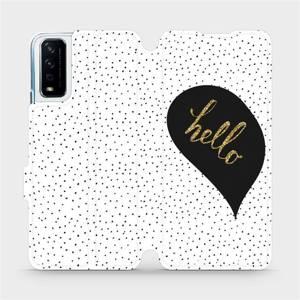 Flipové pouzdro Mobiwear na mobil Vivo Y11S - M013P Golden hello