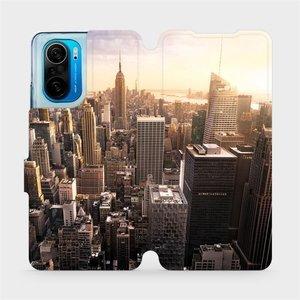 Flipové pouzdro Mobiwear na mobil Xiaomi Mi 11i / Xiaomi Poco F3 - M138P New York