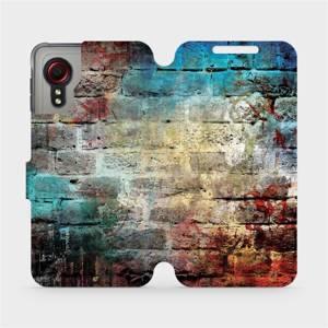 Flipové pouzdro Mobiwear na mobil Samsung Galaxy Xcover 5 - V061P Zeď