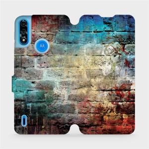 Flipové pouzdro Mobiwear na mobil Motorola Moto E7 Power - V061P Zeď