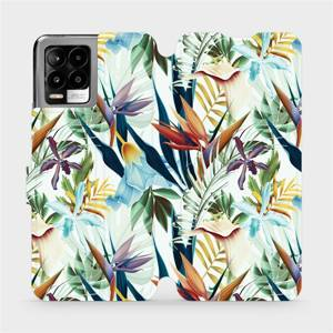 Flip pouzdro Mobiwear na mobil Realme 8 - M071P Flóra