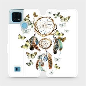 Flip pouzdro Mobiwear na mobil Realme C21 - M001P Lapač a motýlci