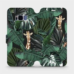 Flip pouzdro Mobiwear na mobil Samsung Galaxy S8 - VP06P Žirafky