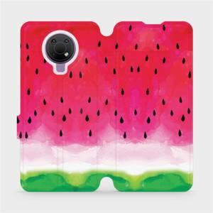 Flip pouzdro Mobiwear na mobil Nokia G10 - V086S Melounek