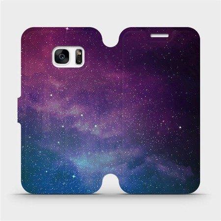 Flipové pouzdro Mobiwear na mobil Samsung Galaxy S7 - V147P Mlhovina