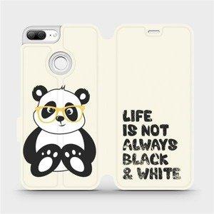 Flipové pouzdro Mobiwear na mobil Honor 9 Lite - M041S Panda - life is not always black and white