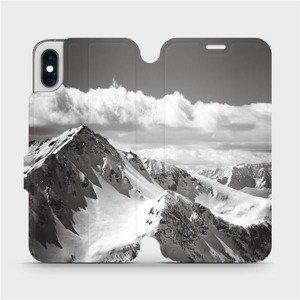 Flipové pouzdro Mobiwear na mobil Apple iPhone XS - M152P Velehory