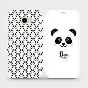 Flipové pouzdro Mobiwear na mobil Samsung Galaxy J4 Plus 2018 - M030P Panda Amálka