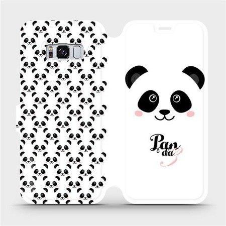 Flipové pouzdro Mobiwear na mobil Samsung Galaxy S8 - M030P Panda Amálka