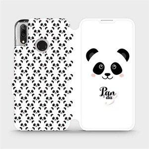 Flipové pouzdro Mobiwear na mobil Huawei Y7 2019 - M030P Panda Amálka