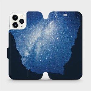 Flipové pouzdro Mobiwear na mobil Apple iPhone 11 Pro - M146P Galaxie