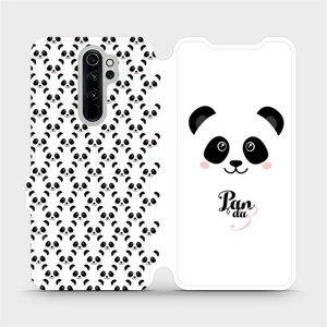 Flipové pouzdro Mobiwear na mobil Xiaomi Redmi Note 8 Pro - M030P Panda Amálka