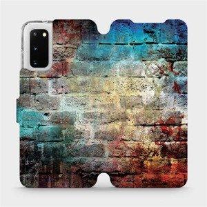 Flipové pouzdro Mobiwear na mobil Samsung Galaxy S20 - V061P Zeď